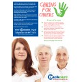Caring for Carers - A3 Poster