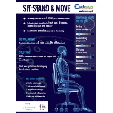 Sit, Stand & Move - A3 Poster