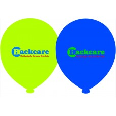 Set of 10 BackCare Balloons