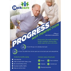 Progress Not Perfection - A3 Poster