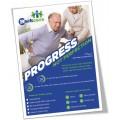 Progress Not Perfection Poster (Single)
