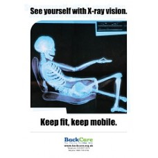 See yourself in X-Ray vision - A3 Skele Poster