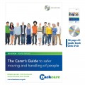 The Carer's Guide for safer moving and handling of people booklet plus DVD