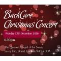 BackCare Christmas Carol Concert Ticket