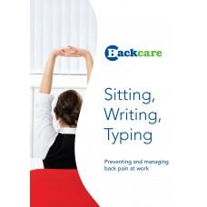 Sitting, Writing, Typing
